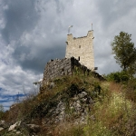 У Анакопийской крепости