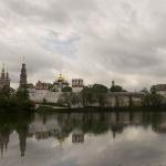 Новодевичий монастырь. Панорама
