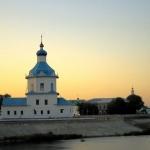 Церковь Успения на закате