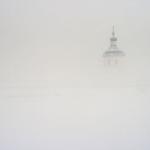 Церковь Успения в тумане