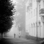 Туман в городе